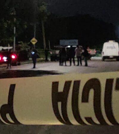ACTUALIZACIÓN | EMPIEZA CANCÚN LA SEMANA CON VIOLENCIA: Ejecutado en el interior de un auto estacionado en avenida Chac Mool laboraba en un Call Center y tenía tres dosis de cocaína