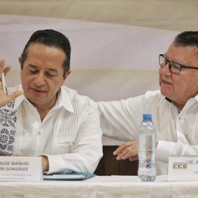 """""""EVIDENTEMENTE GENERA DESCONFIANZA"""": Reconoce Carlos Joaquín que afecta no tener delegados federales en Quintana Roo"""