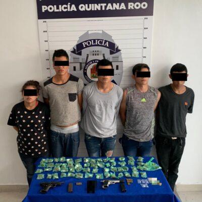 Cae banda de narcomenudistas en Cancún