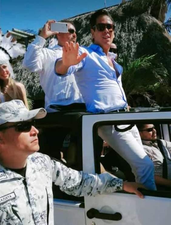 """""""ES UNA RIDICULEZ PORQUE LA COSA ES MUY SENCILLA"""": Palazuelos justifica la actuación de la Guardia Nacional para resguardarlo en el carnaval de Progreso"""
