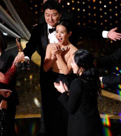 La surcoreana 'Parásitos' es la primera película en lengua no inglesa que gana el Oscar principal