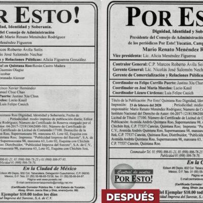 Confirman 'Gran Purga' en el 'Por Esto!', con Renán Castro por 'delante'