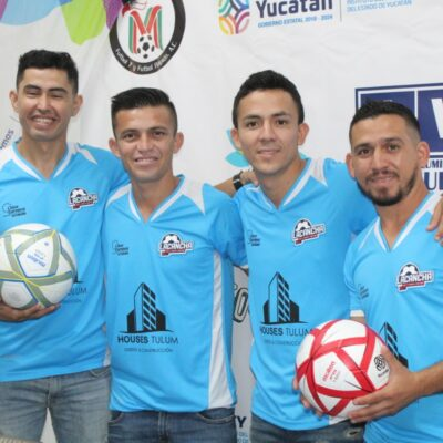 Selección yucateca viaja a Copa Internacional Cancún 2020 de fútbol