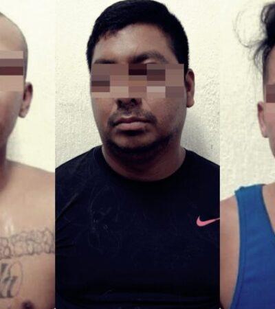 Capturan a presuntos homicidas de un hombre en colonia de Playa del Carmen