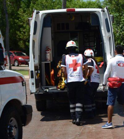 Muere una turista canadiense al salir del mar en la zona hotelera de Cancún