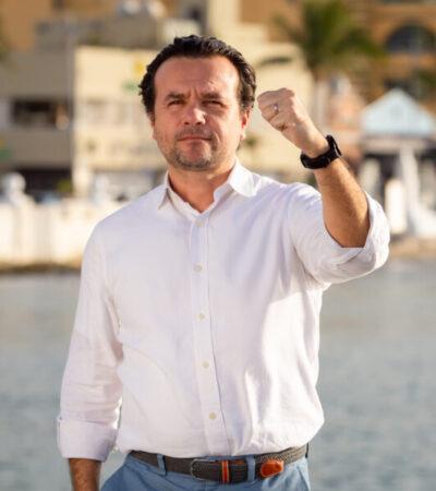 """""""COZUMEL NOS NECESITA UNIDOS"""": Llama Pedro Joaquín a ciudadanos a mantener la calma y seguir recomendaciones ante contingencia por coronavirus"""