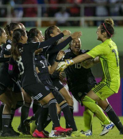 FOTOS   Tri femenil Sub 20 vence en penales a Haití y clasifica a la Copa del Mundo Costa Rica-Panamá 2020