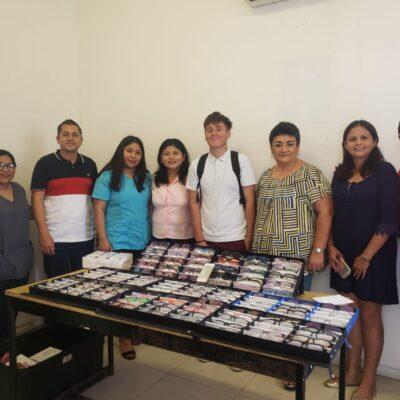 Implementan campaña de salud visual para estudiantes y padres de familia en Isla Mujeres
