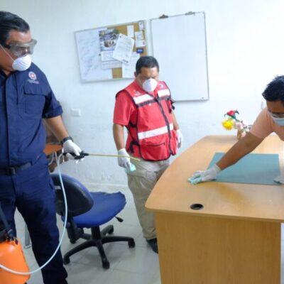 Exhorta Protección Civil a la población de Isla Mujeres a seguir las medidas de higiene recomendadas