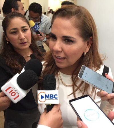"""""""TENEMOS ALGO QUE ESTÁ MAL DESDE ABAJO"""": Dice Mara Lezama que violencia en Cancún continuará mientras no se logre recomponer el tejido social"""