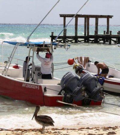 Ordena Capitanía cierre de puertos para embarcaciones menores nacionales y extranjeras en QR como medida preventiva contra el coronavirus