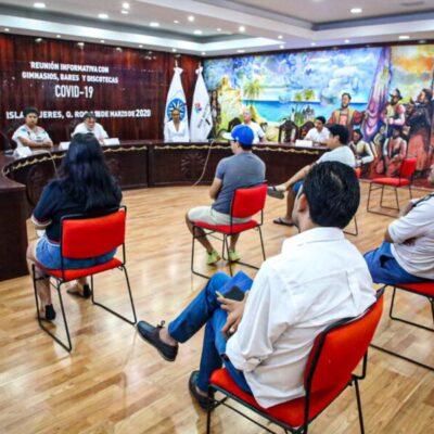 Gimnasios, bares y discotecas de Isla Mujeres cerrarán sus puertas a partir de mañana para prevenir el Covid-19