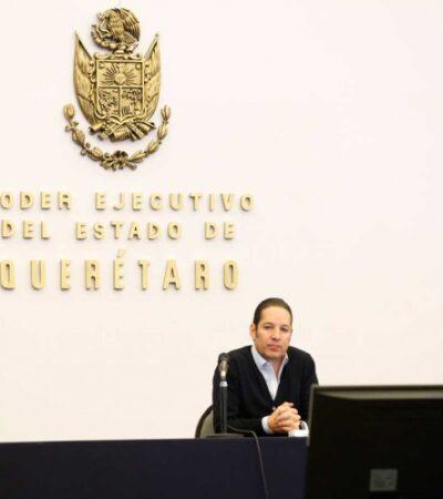 Reporta Querétaro este domingo su primer muerte por COVID-19