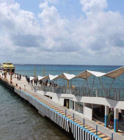 Desplome turístico en el Caribe Mexicano provoca suspensión del 70% de corridas del ferry en la ruta Playa del Carmen-Cozumel