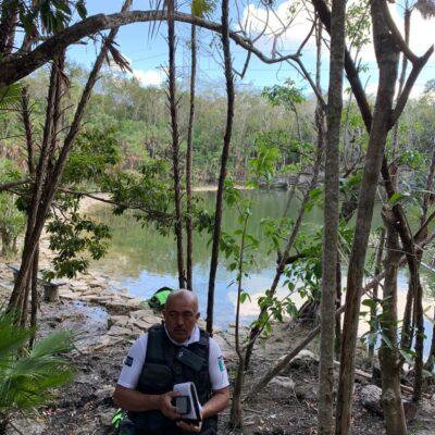 Se ahoga estadounidense en un cenote en Puerto Morelos