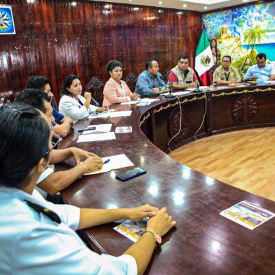 Buscan cerrarle la puerta al COVID-19 en Isla Mujeres; instalan comité municipal contra el coronavirus