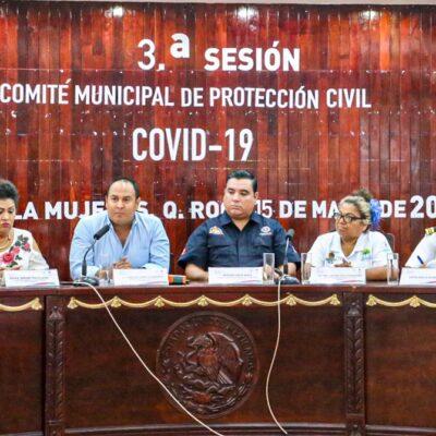 Mantienen en Isla Mujeres protocolos de vigilancia epidemiológica y de contención para el coronavirus