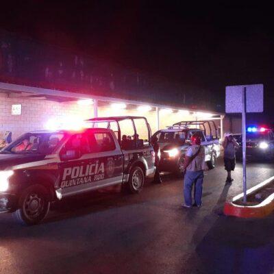 """""""VA EN SERIO, SE LOS HEMOS ADVERTIDO"""": Agarran a saqueadores en una sucursal de Bodega Aurrerá en Cancún"""