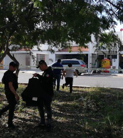 Intercambio de balazos entre policías y delincuentes en el Fraccionamiento Gran Santa Fe de Cancún