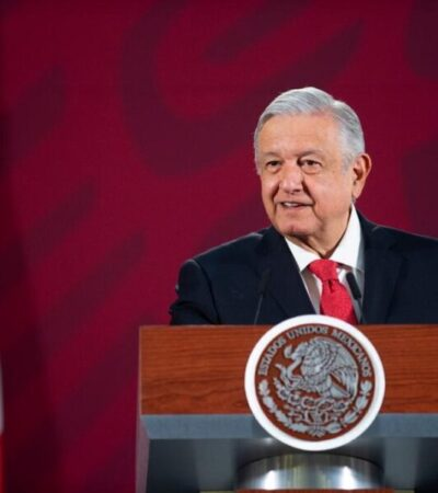 Licitación del Tren Maya continuará su curso, afirma Andrés Manuel López Obrador