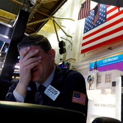 Paro de emergencia en Wall Street tras desplome del mercado… 15 minutos fuera por caída del 7 por ciento