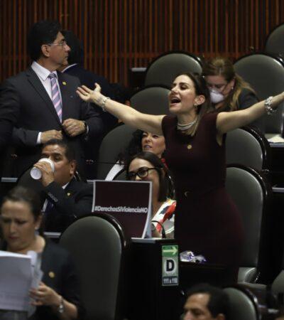 ALBAZO EFECTIVO, …SÍ REELECCIÓN: Morena y sus aliados en la Cámara de Diputados aprueban reformas que favorecen la reelección de los actuales diputados y senadores