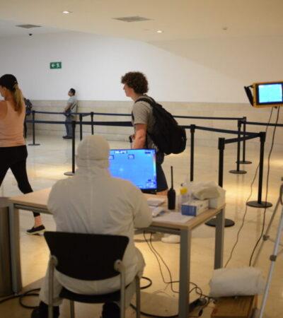 Denuncian que en el aeropuerto de Cancún falta personal de Sanidad Internacional
