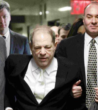 Harvey Weinstein, ex titán de Hollywood de 67 años, es sentenciado a 23 de prisión por agresión sexual y violación