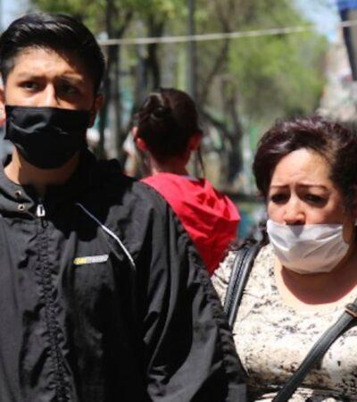 Van cinco muertes por COVID-19 en México; casos confirmados suman 405 en 31 estados