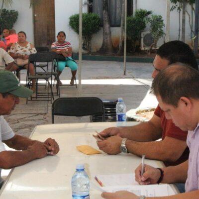 En un ambiente de tensión, cobran trabajadores de José María Morelos mensualidad de laudo