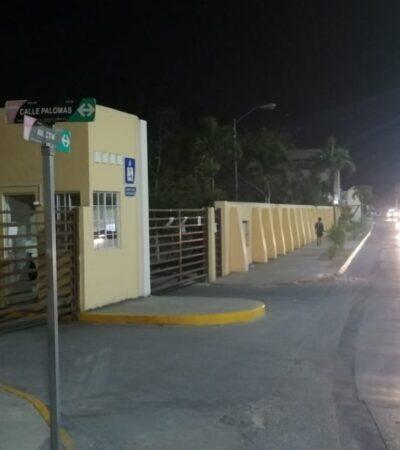 Disparan contra fachada de fraccionamiento en Playa y exigen pago por atentado contra la croquista Narda de la Cruz