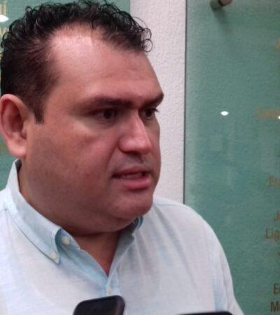 Solicita Édgar Gasca suspensión de sesiones en el Congreso de Quintana Roo