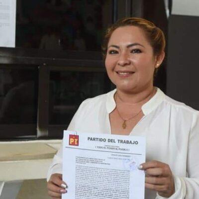 Releva Ana Pamplona a Roberto Erales en la coordinación de la fracción parlamentaria del PT en el Congreso del Estado