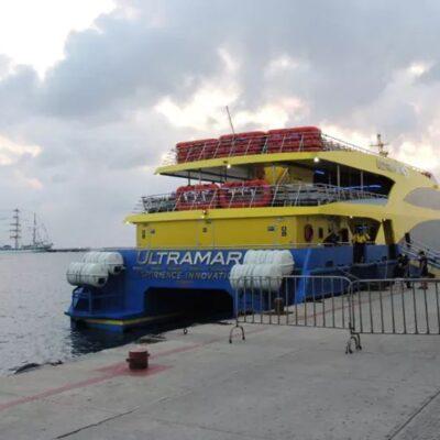 Se alternarán navieras para brindar servicio de transporte en la ruta Cozumel-Playa del Carmen