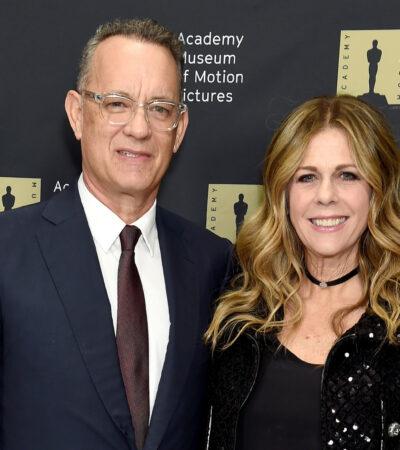 Tom Hanks y su esposa, Rita Wilson, dan positivo a COVID-19