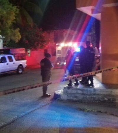 ATAQUE EN LA COLONIA COLOSIO: Dos muertos y un herido en la noche del jueves en Playa del Carmen