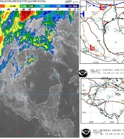 PRONÓSTICO DEL CLIMA: Tiempo estable caluroso para Quintana Roo