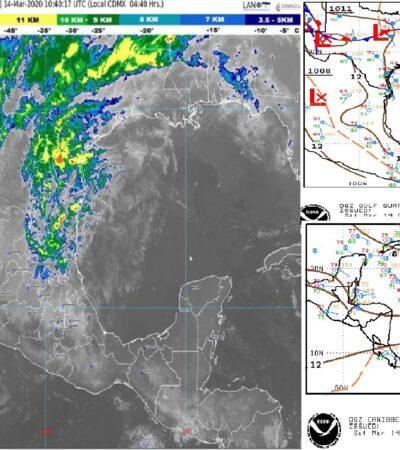 PRONÓSTICO DEL CLIMA: Temperaturas calurosas para este sábado en Quintana Roo