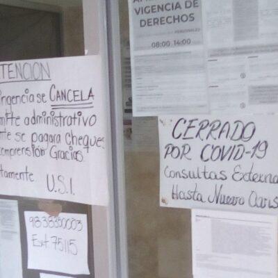 INSÓLITO: En plena contingencia por el coronavirus, cierra hospital del ISSSTE en Cancún