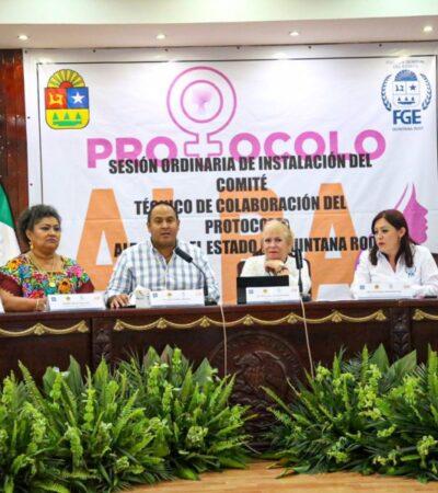 Instalan el Comité Técnico de Colaboración del Protocolo ALBA en Isla Mujeres
