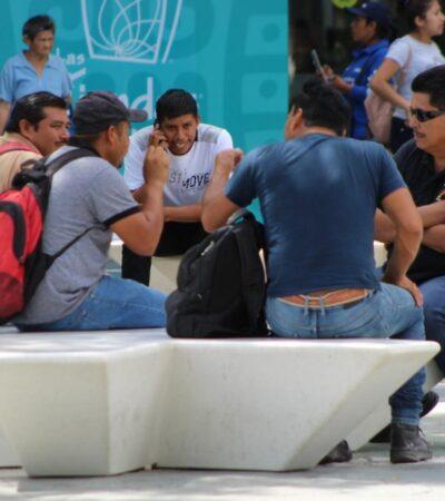 Albañiles, víctimas del desempleo a causa de la contingencia sanitaria por coronavirus en Cancún