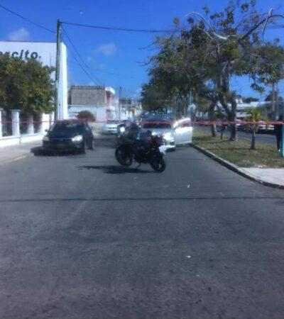 Sujetos armados asaltan a cuentahabientes en pleno centro de Chetumal; no hay detenidos