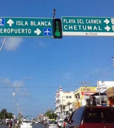 Solicita Tránsito municipal recursos para instalar más semáforos en Cancún