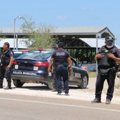 Reubican filtro policíaco en José María Morelos
