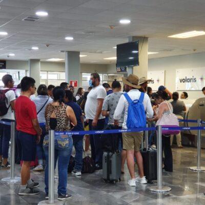 Pasajeros quedan varados en el aeropuerto de Chetumal por cancelación de vuelo a CDMX de la aerolínea Interjet