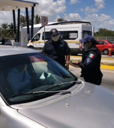 Emite Cdheqroo medida cautelar contra SSP por impedir el libre tránsito en Chetumal y publicar nombres de presuntos saqueadores
