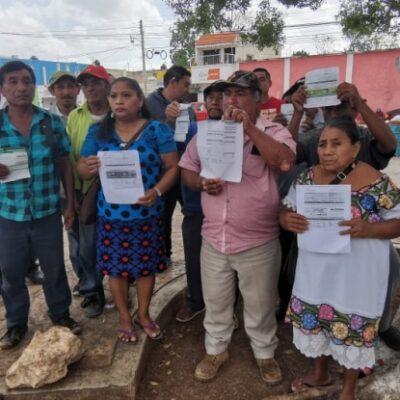 Habitantes de la Zona Maya se manifiestan nuevamente contra CFE porque continúan los abusos en cobros