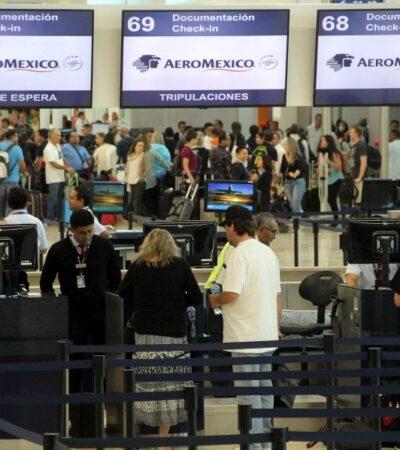 Anuncia Aeroméxico vuelos diarios en la ruta Chetumal-CDMX a partir de junio