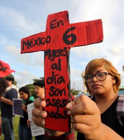 """El movimiento """"Un día sin nosotras"""" es una causa justa e histórica para las mujeres de México, afirma Inna Germán"""