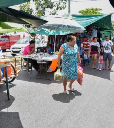 Cae 50% la venta en tianguis de Cancún por contingencia sanitaria